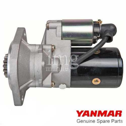 Motorino avviamento Yanmar 6LY