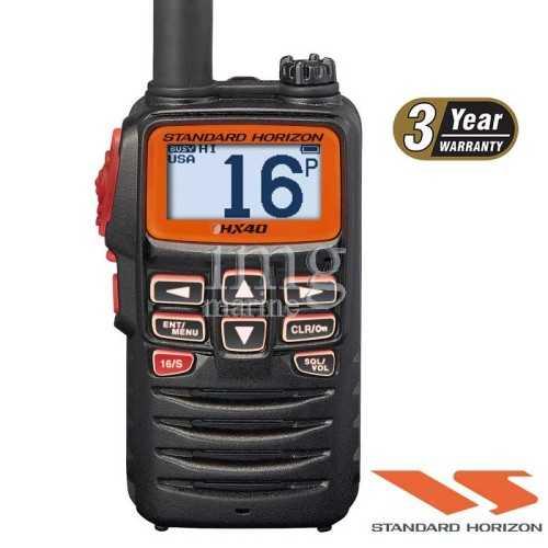 VHF portatile Horizon HX40E