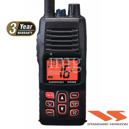 VHF portatile Horizon HX400IS