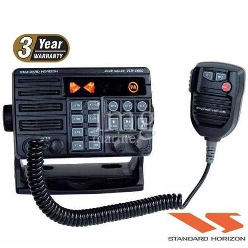 Megafono doppia zona Horizon VLH-3000A