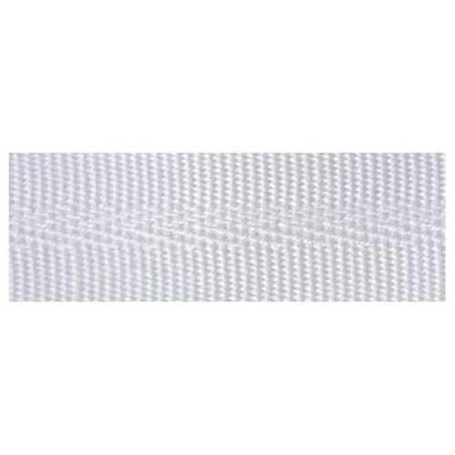Bordo in Acrilico da 23 mm per la finitura di teli e tendalini - Bianco
