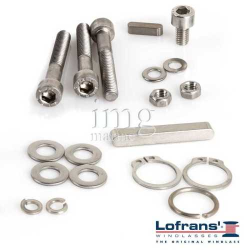 Kit manutenzione PROJECT X2 Alu Lofrans