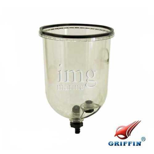 Coppa trasparente prefiltro Griffin GTB228 S4