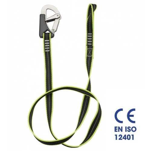 Cinghia sicurezza cordone ombelicale 1 moschettone Plastimo EN ISO 12401