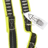 Cinghia sicurezza elastica 1 moschettone cordone ombelicale Plastimo EN ISO 12401