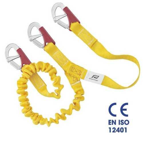 Cordone ombelicale doppio con elastico ISAF 3 moschettoni Plastimo EN ISO 12401