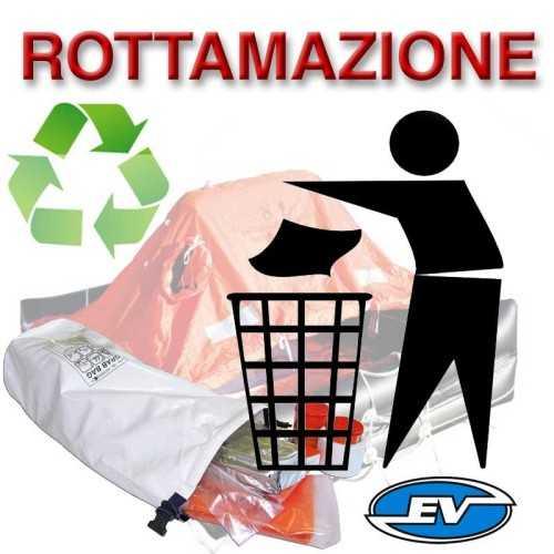 Eurovinil Syntesy Zattera ISO 9650 Italia con Grab Bag senza limiti