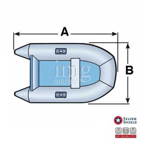 Telo copri tender Silver Shield disegno