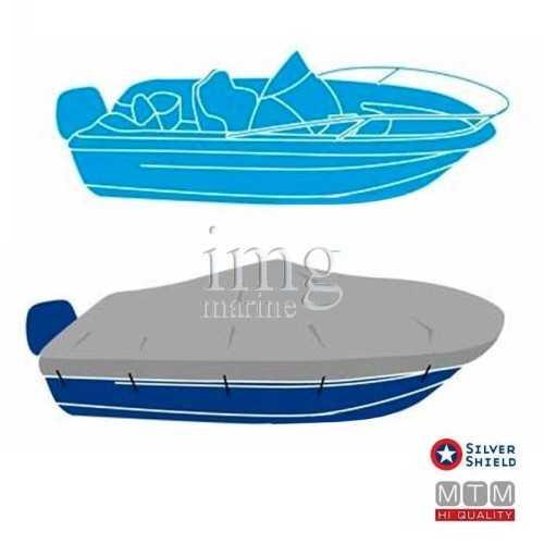 Telo copri barca Blu Shield