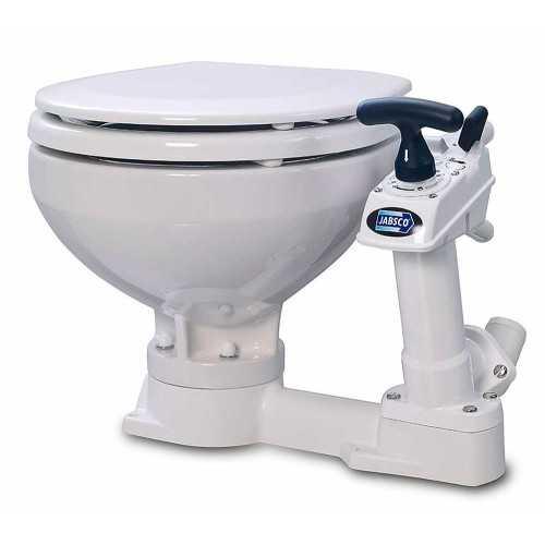 WC Toilet marino manuale Compact Twist & Lock 2018 JABSCO