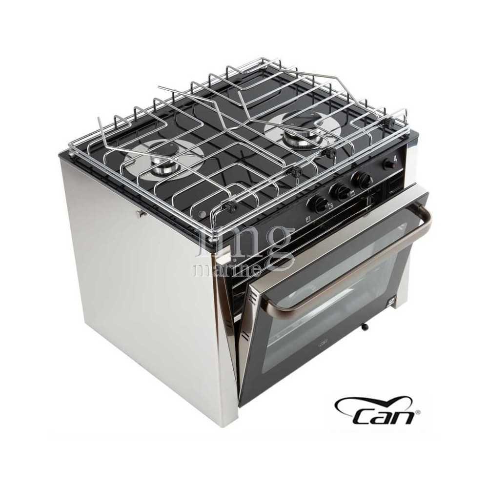 Cucina a gas 2 fuochi con forno CAN
