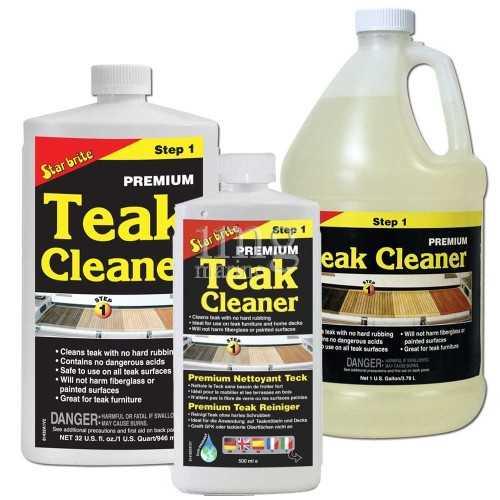 Detergente Teak Cleaner fase 1 Star Brite