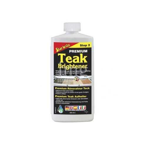 Brillantante Teak Brightener fase 2 Star Brite confezione 0,5 litri