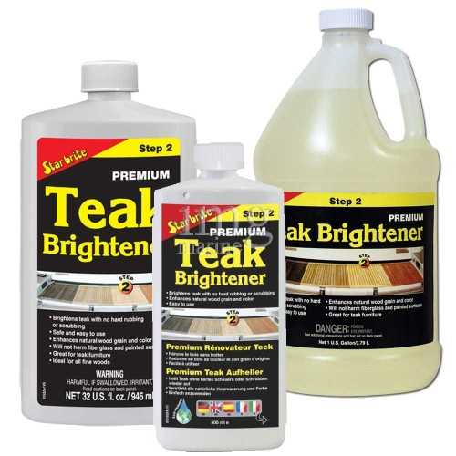 Brillantante Teak Brightener fase 2 Star Brite