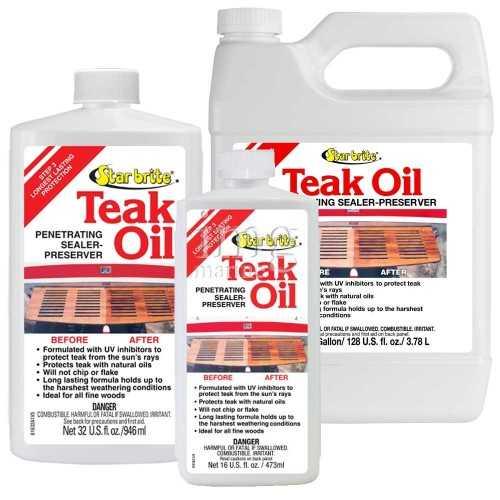 Olio impregnate Teak Oil fase 3 Star Brite