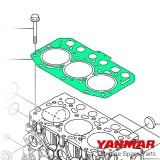 Guarnizione testata serie 3YM30 Yanmar