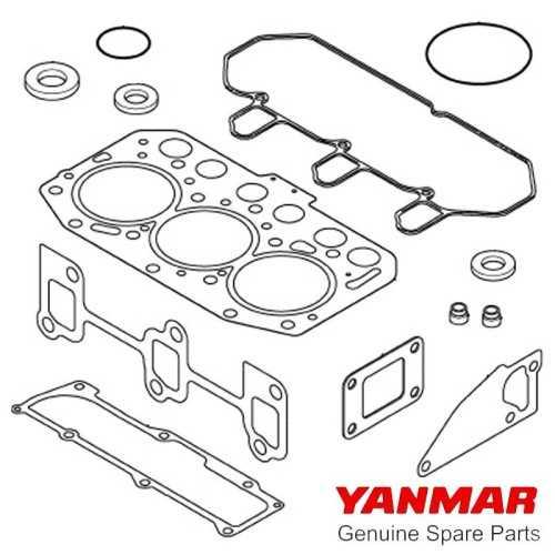 Guarnizioni motore serie 3YM20 Yanmar