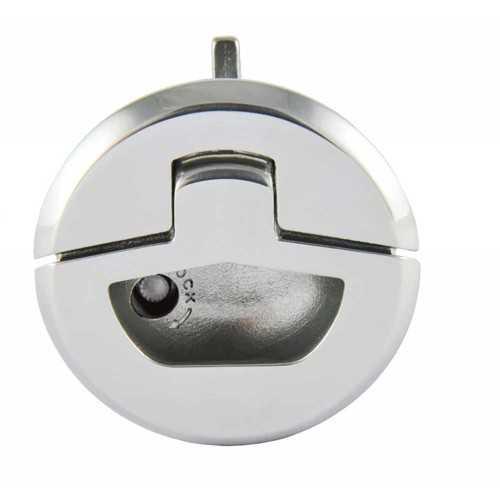 Chiusura tonda mini stagna in acciaio inox Aisi 316