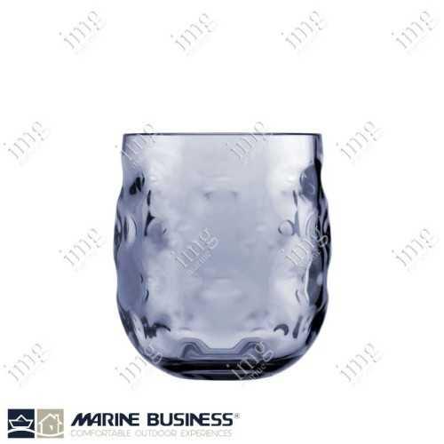 Bicchieri infrangibili Moon Blu da acqua Marine Business