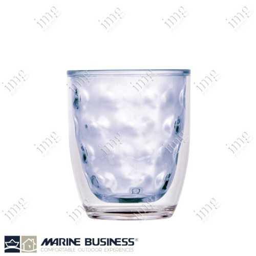 Bicchieri termici infrangibili serie Moon Blu Marine Business