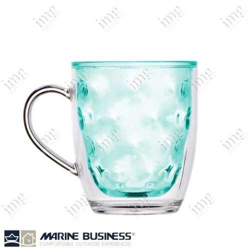 Tazze Mug termiche infrangibili serie Moon Acqua Marine Business in MS BPA Free