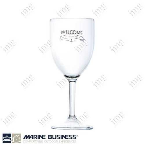 Bicchieri infrangibili da vino serie Welcome Marine Business BPA Free