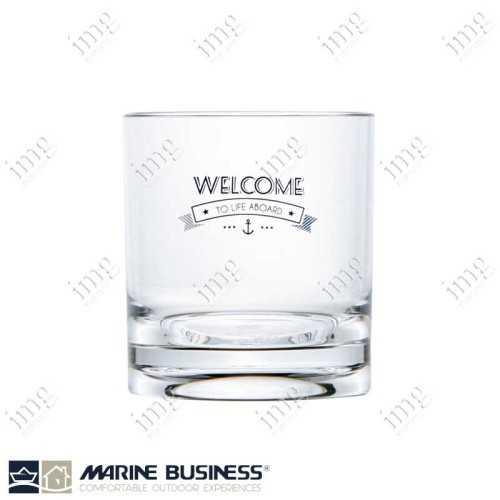 Bicchieri infrangibili da acqua serie Welcome To Life Marine Business BPA Free