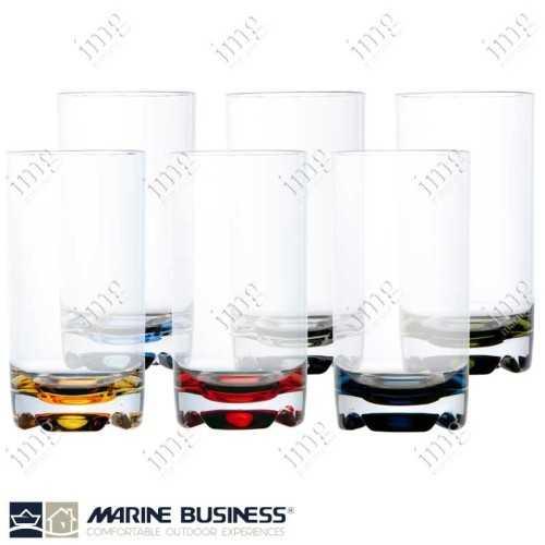 Bicchieri infrangibili da Bibita Colors Marine Business BPA Free