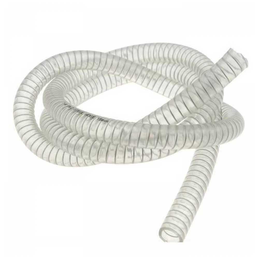 Tubo PVC atossico con spirale acciaio