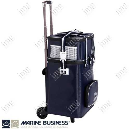 Trolley con Borsa Frigo Grande e Borsa Porta Stoviglie Sea Lovers Marine Business