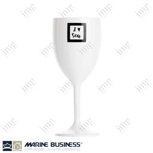 Bicchieri infrangibili Sea Lovers da vino Marine Business In MS BPA Free