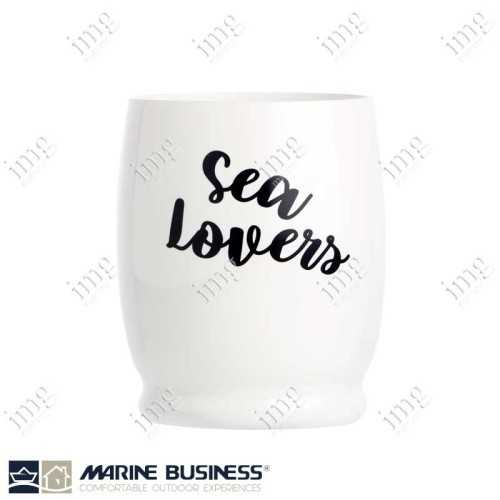 Bicchieri infrangibili Sea Lovers Letters da Acqua Marine Business In MS BPA Free