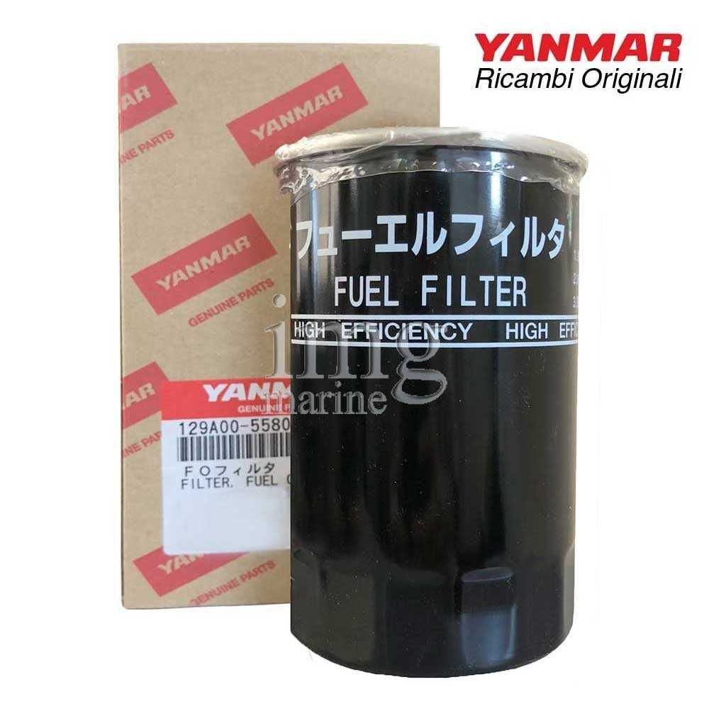 Filtro gasolio 129A00-55800 Yanmar motori 3JH40 - 4JH45/57/80/110CR