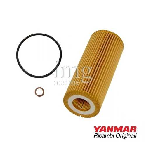 Filtro olio 165000-69520 originale Yanmar per motori serie 4BY - 4BY2/3