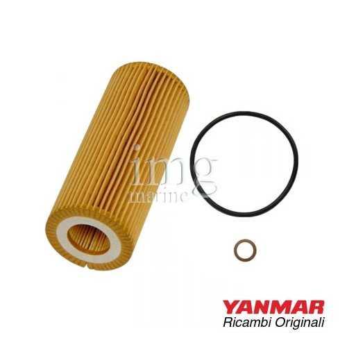 Filtro olio 165000-69590 originale Yanmar per motori serie: 6BY - 6BY2/3