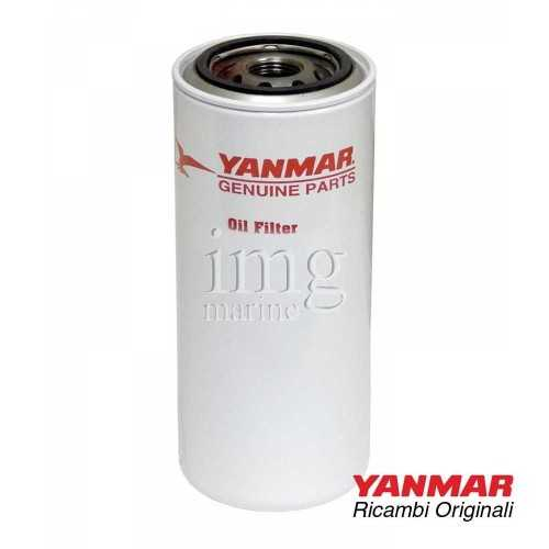 Filtro olio 119593-35400 originale Yanmar per motori serie: 6LYUTE - 6LY400CR - 6LY2STE - 6LY440CR - 6LY3ETP