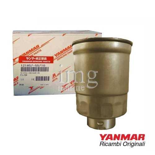Filtro gasolio 121857-55710 Yanmar per motori 4LHTE - 4LHHTE - 4LHAHTE