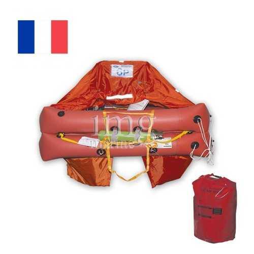 Zattera ISO 9650:2005 Francia Tipo 1 oltre 24H con Grab Bag Eurovinil