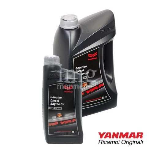 Olio motore Diesel SAE 15W40 YANMAR