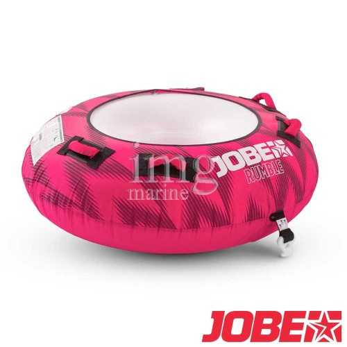 Jobe Rumble Hot Pink 1P ciambella trainabile
