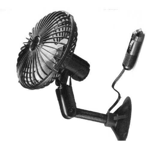 Ventilatore a ventosa 12V