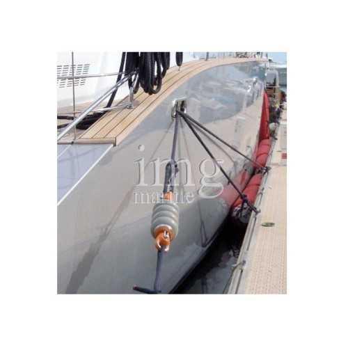 Charly Bravo 2 Ammortizzatore d'ormeggio per barche