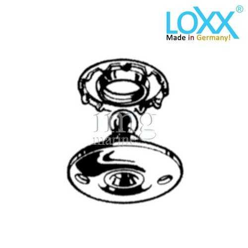 Basetta attacco tessuti Bottoni Loxx Tenax