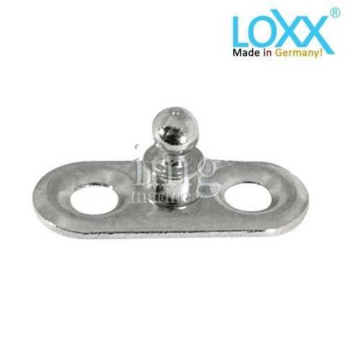 Basetta di attacco testa alta originale Loxx Tenax