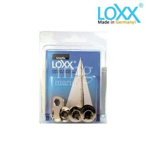 Bottoni Loxx Tenax Blister - 10 Rondelle Alte