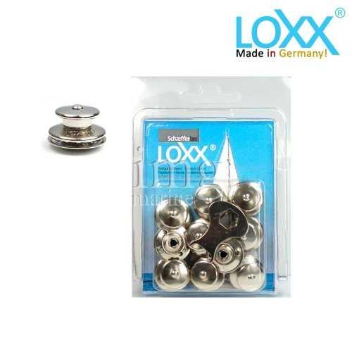 Bottoni Loxx Tenax Blister 10 Teste bottoni