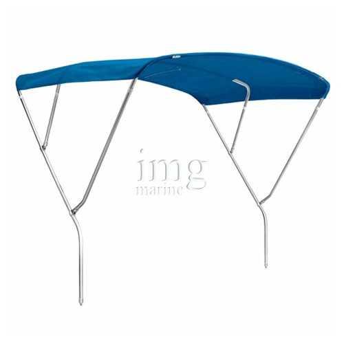 Tendalino capottina Prestige 3 archi Tessuto Blu artic Sunbrella Plus