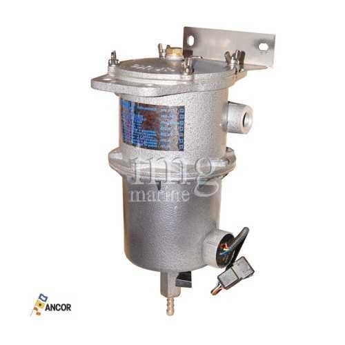 Filtro decantatore gasolio PFG21 WS con allarme