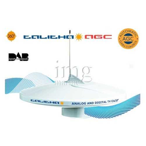Antenna TV e Radio DAB AM-FM TALITHA V9125AGCU-DAB20 Glomex