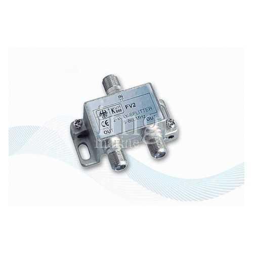 Splitter V9147 a 2 uscite per antenne Glomex
